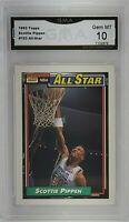 1992 Topps All-Star #103 Scottie Pippen GMA 10