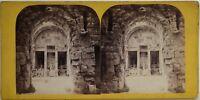 Nîmes Tempio Da Diane Francia Foto Stereo Vintage Albumina c1865