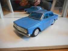 Tinplated Clover Toy Volvo 140 in Blue (Made in Korea)