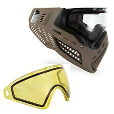 Virtue VIO Ascend Paintball Goggle and Spare Lens Bundle - FDE Clear / Yellow