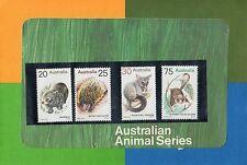 AUSTRALIA 1974-ANIMAL DEFINITIVE  ISSUES POST OFFICE PACK MUH