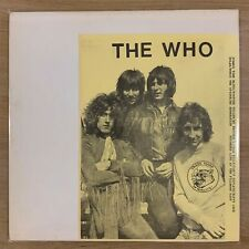 The Who - Live at the Fillmore East - 1968 - TMOQ - In Perfect condition - MINT