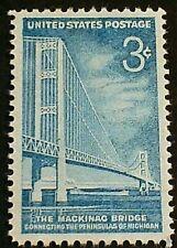 U.S. Scott 1109- Mackinac Bridge, Michigan- MNH OG 3c 1958