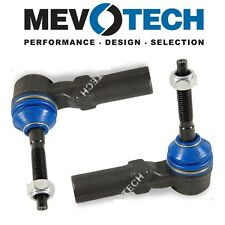 For Chevrolet Oldsmobile Pair Set of 2 Front Outer Tie Rod Ends Mevotech MES3460