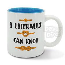 MI sono letteralmente può Knot Divertente non può non può MEME corda a vela Sailor Nodi Tazza