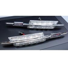 2 REPETITEUR LED BMW SERIE 5 E39 1995-2003 520 525 530 d 525 MOTORSPORT M BLANC