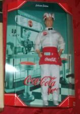 Coca Cola Soda Jerk Ken Limited Edition 2000 Doll No Shipper RARE HTF