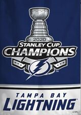 Tampa Bay Lightning 2020 Champion Flag 3x5 Stanley Cup Vertical NHL Champions