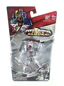 "POWER RANGERS Super Samurai - DEKER 4"" Figure - Ban Dai w/ swords - Rare NEW"