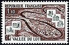 FRANCE TIMBRE NEUF  N° 1807 **  LA VALLEE DU LOT