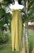 Sarong Solid Plus Size Olive Green Beach Cover-up Hawaii Pareo Bikini Wrap Dress