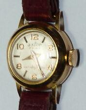 Vintage Woman Lady Astor 17 Rubis watch 18K Gold b8