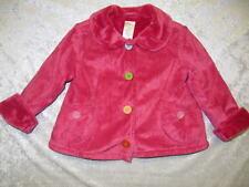 Gymboree Lots of Dots Hot Pink Faux Suede Jacket/Coat, 12-24 mos.