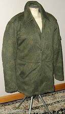 VINTAGE POLAND MILITARY OD LEOPARD CAMOUFLAGE CAMO EXTREME JACKET W/ LINER S M