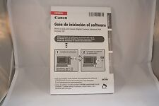Canon Camera Software Instruction Guide de Inicaicion (SP) 7214029 ESpanol