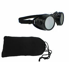 MOTORCYCLE EYE PROTECTION GLASSES GOGGLES DIRT DUST ROCK WATER RESISTANT DOT NEW
