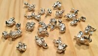 1 TROY OZ OF .999 FINE SILVER NUGGETS FREE SHIPPING! LOW PRICE! 100% GUARANTEED!