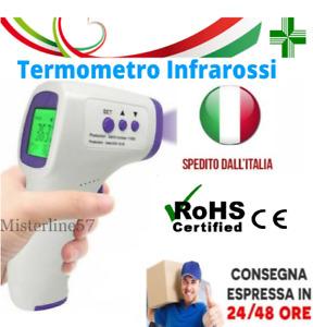 Termometro Infrarossi Digitale Frontale Per Febbre Senza Contatto Termoscanner