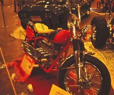 """1941 Indian Custom Motorcycle at a 1968 Hot Rod Car Show 8""""x 10"""" Photo 1"""