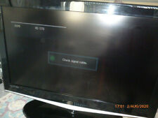 Samsung LCD TV 37 Inch Black with Stand.
