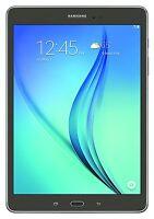 Samsung Galaxy Tab A SM-T550 9.7-Inch Tablet (16 GB, Smoky Titanium)