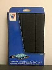 Ultra Slim Tri-Fold Case for iPad mini - Black V7 TA55-8-BLK