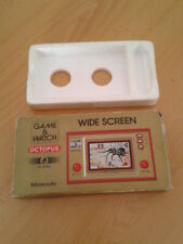 NINTENDO GAME&WATCH WIDESCREEN OCTOPUS OC-22 CAJA COMPLETA BOX+FOAM VER!!