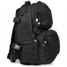 Enforcer Police Security MOLLE Hydration Daysack Rusksack Backpack Bag 40L Black