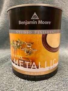 Benjamin Moore Studio Finishes Gold Quart Metallic Latex Glaze 620-10