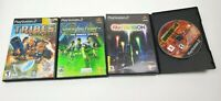 PlayStation 2 Games Bundle Lot of 4! (Sony PS2) Syphon Filter Tribes RoboTech Fa