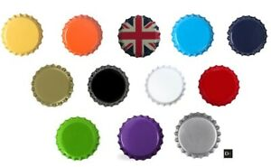 Beer Bottle CROWNS CAPS 26mm Mix EXCELLENT SEAL QUALITY Home Brew FREE DELIVERY