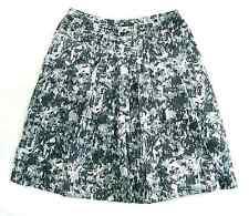 New York & Co - NWOT Gray, Black & White Skirt, cotton sz 6