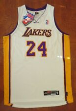KOBE BRYANT Lakers #24 WHITE NIKE Authentic ON-COURT JERSEY Size 48  XL New NWT