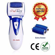 Rechargeable Electric Callus Remover - Foot File for Scrubbing Feet, Micro-Pedi