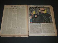 1946-1954 EL DIARIO & NOVEDADES SPANISH MAGAZINE SECTION LOT OF 57 - NP 1846