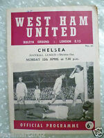1964/65 WEST HAM UNITED v CHELSEA, 12th April (League Division One)