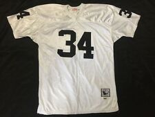 Bo Jackson Throwback Jersey Oakland Raiders 1987 Mitchell   Ness White Sz 56  NEW 712f4eb21