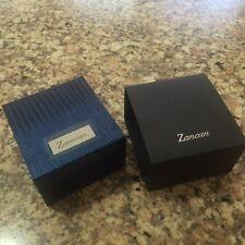"100%AUTHENTIC ZANCAN JEWERLY BOX ORGANIZER 3.5""x3.75""x2.25"