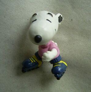 """Snoopy und die Peanuts: """"Snoopy als Inlineskater, auf Rollerblades"""", Schleich"""
