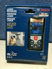 Bosch GLM 42 Blaze 135 Ft. Laser Measure with Color Display FREE SHIPPING