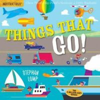 Indestructibles: Things That Go! by Amy Pixton (2017, Paperback
