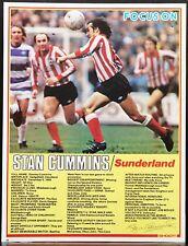 Jugador de fútbol enfoque Stan Cummins Sunderland disparar