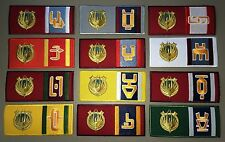BATTLESTAR GALACTICA - Set of 12 Colony Patches