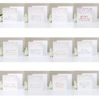 Amore de Lujo Aniversario/Regalo de Boda Tarjeta Con Sobre - Elegir Diseño