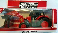 Santa Fe R.R. denver diecast const. tractor o gauge use w/lionel mth atlas nib