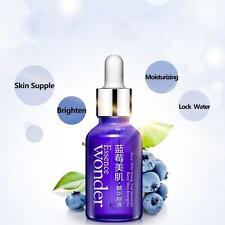 Blueberry Facial Treatment Pure Essence 15ml Skincare Serum Toner Anti-Aging&Y6し