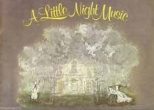 "Hermione Gingold (Signed) ""A LITTLE NIGHT MUSIC"" Stephen Sondheim 1973 Program"