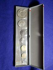 """1965 Monnaie De Paris Pieces """"Fleurs De Coins"""" Mint Set In Original Packaging!19"""