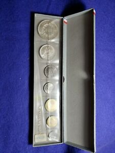 "1965 MONNAIE DE PARIS PIECES ""FLEURS DE COINS"" MINT SET IN ORIGINAL PACKAGING!19"