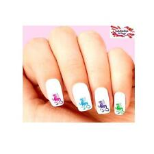 Waterslide Dragon Nail Decals Set of 20 - Colorful Dragons Assorted